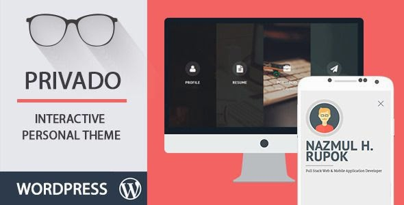 Best Interactive Personal WordPress Theme