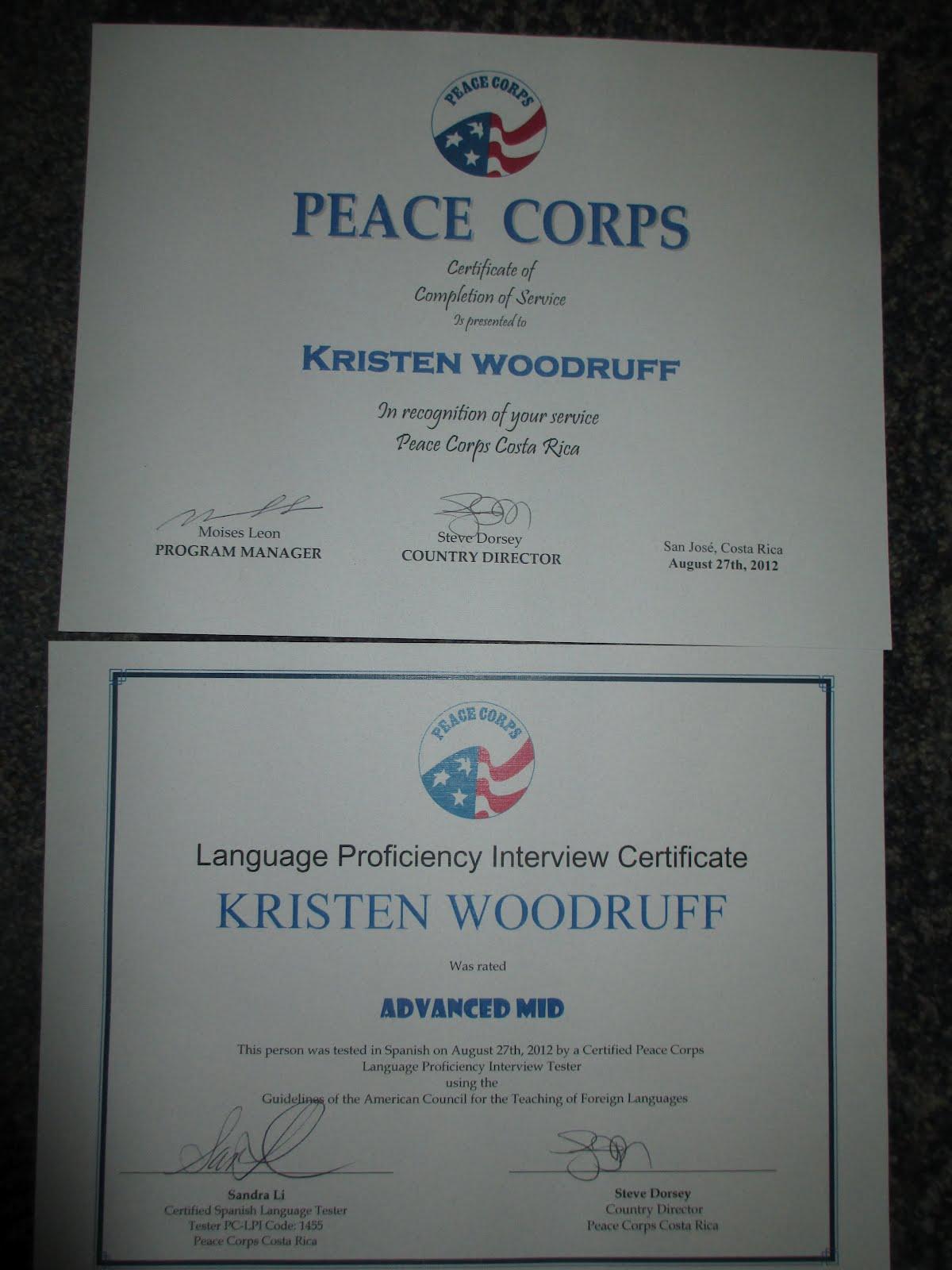 Peace Corps Costa Rica According To Kristen