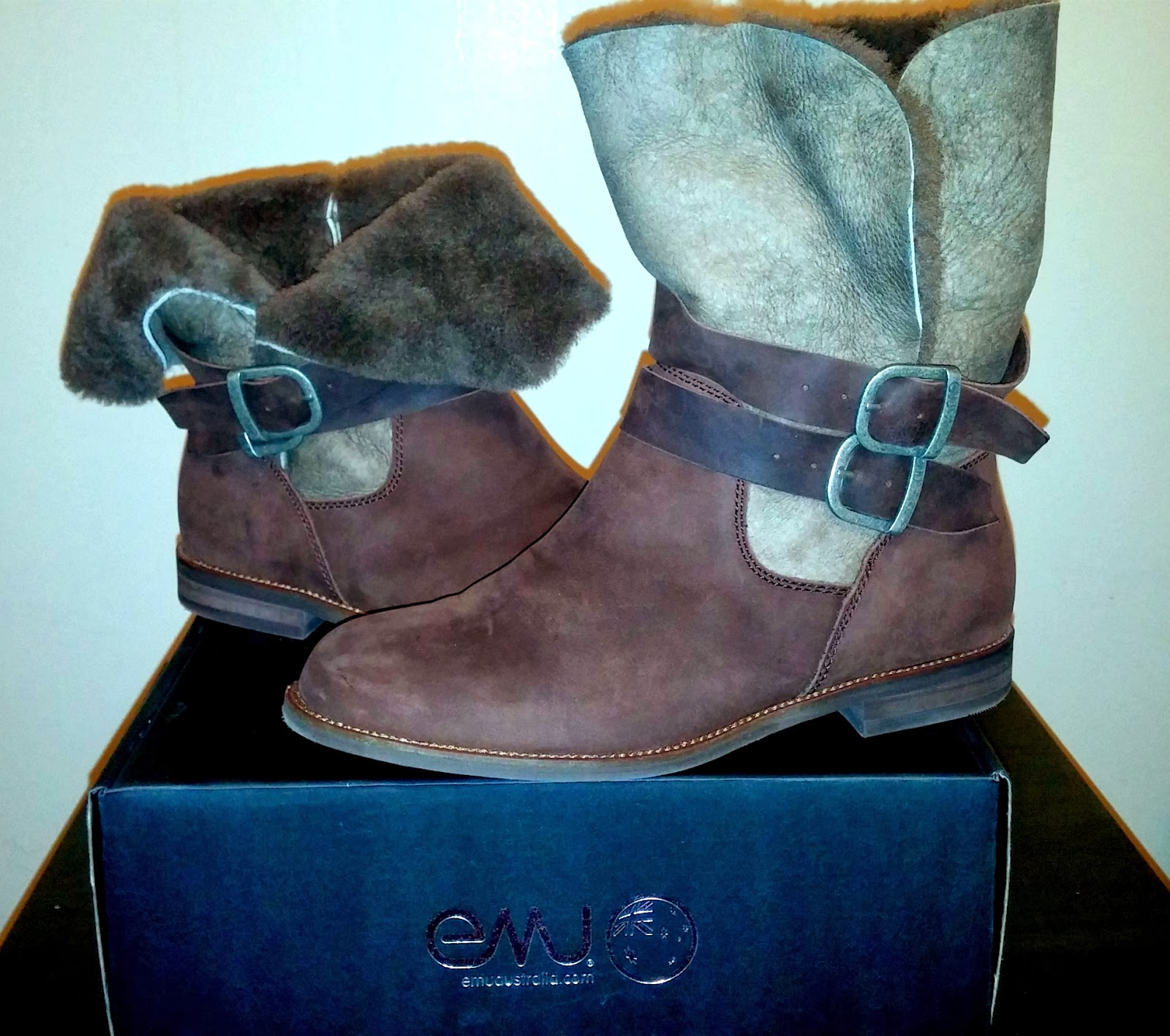 Emu Australia Agnes Boot, Chocolate