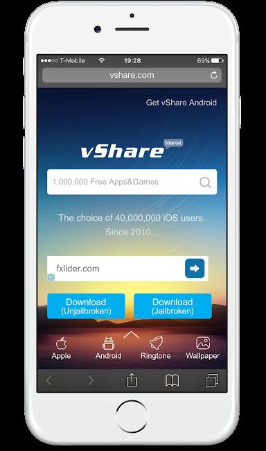 Download Vshare App