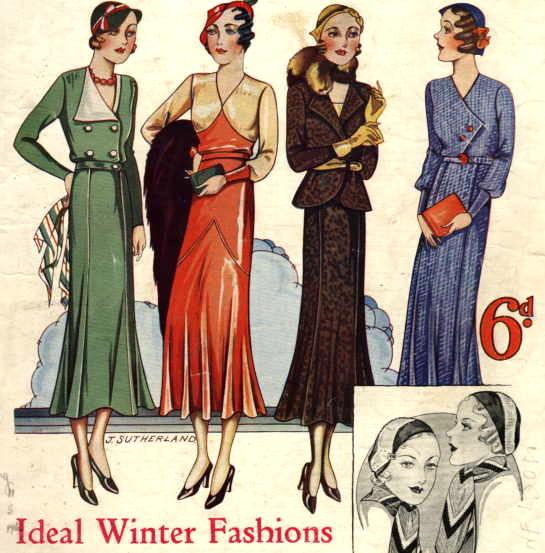 1932's fashion