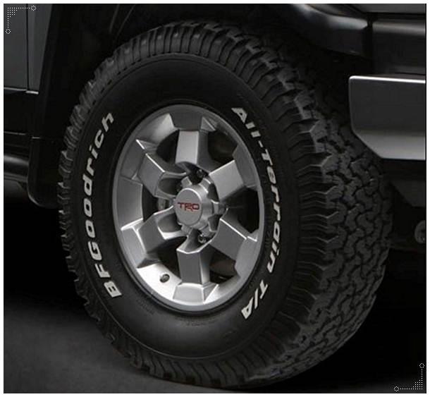 2016 Toyota Tundra Bolt Pattern
