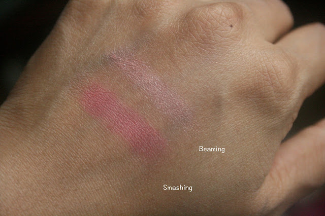 Tarte Bling It on Amazonian Clay Blush Palette Holiday 2015 Swatches