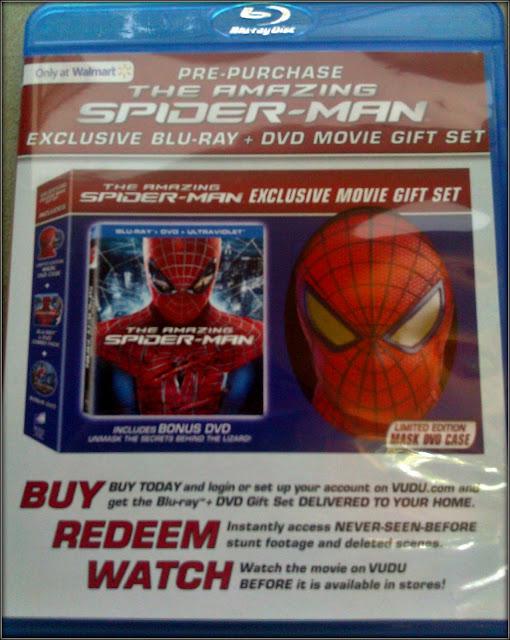 Spiderman Limited Edition Blu-ray