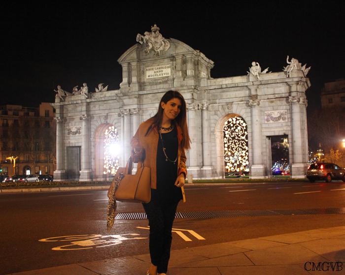 diana dazzling, fashion blogger, fashion blog,  cmgvb, como me gusta vivir bien, dazzling, luxury, Madrid, Christmas, Puerta de Alcalá, iluminación navideña