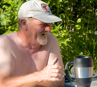 Larry Rafferty aka Gummy at Bare Oaks Family Naturist Park