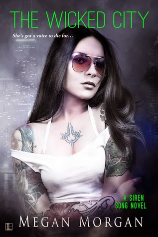 The Wicked City urban fantasy by Megan Morgan