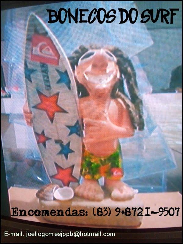 Bonecos do Surf