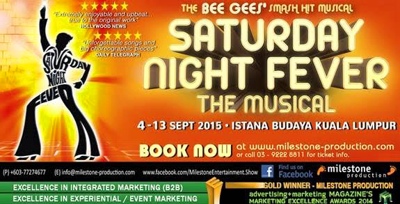 Saturday Night Fever the Musical Malaysia