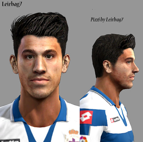 PES 2013 Pizzi Face by Leirbag7