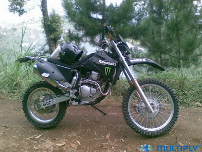 Modifikasi Trail Yamaha Scorpio 2006 modif trail