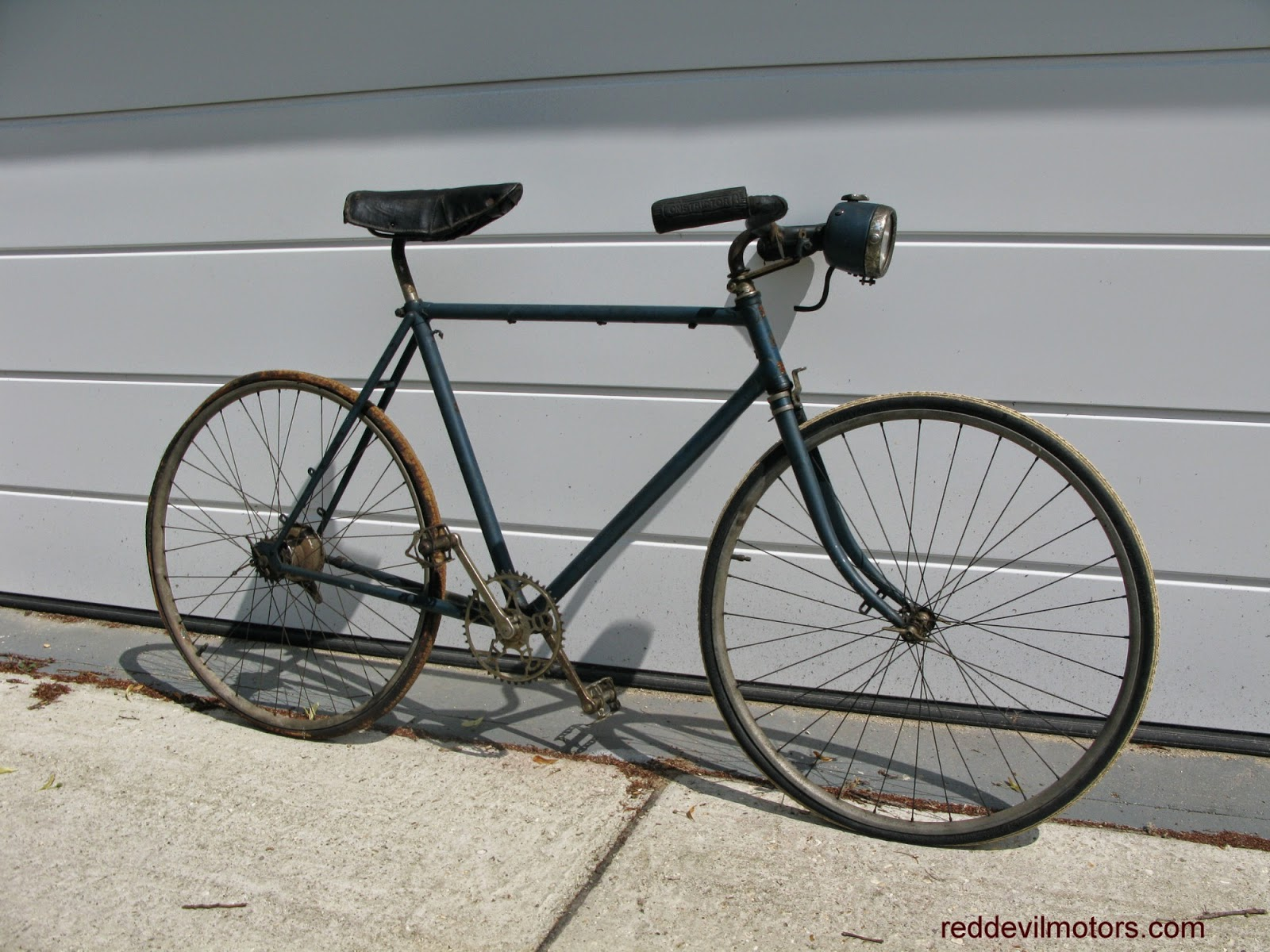 F W Evans vintage lightweight 531 pre war bicycle