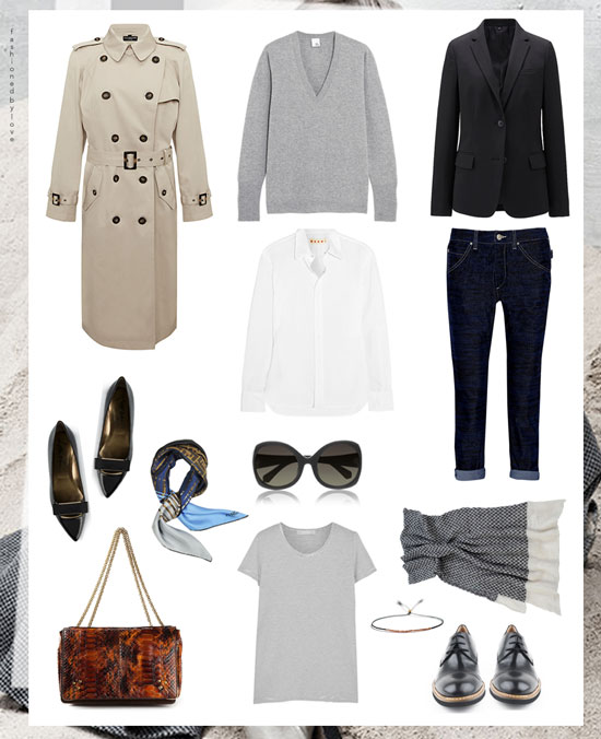 via fashionedbylove: Parisian style | French style | Wardrobe essentials | #howtobeparisian
