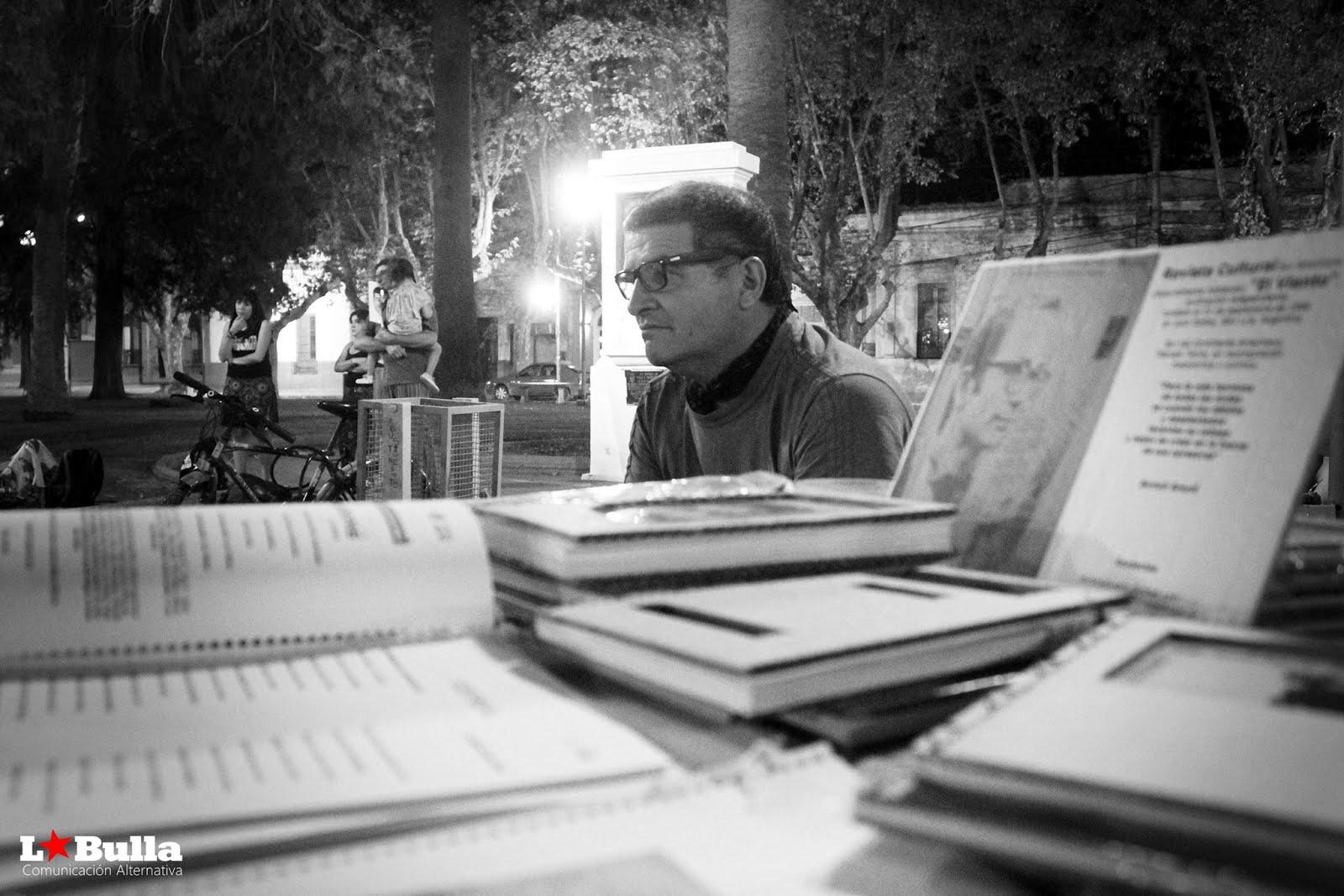 Luis Vilchez, escritor de poemas Juana Koslay, San Luis, Argentina