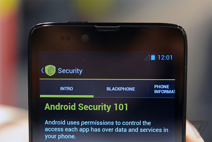Silent Circle's Blackphone - Privacy and Security Focused Smartphone available at $629