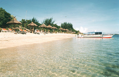 Gili Meno on Gili Meno   Island With Blue Coral
