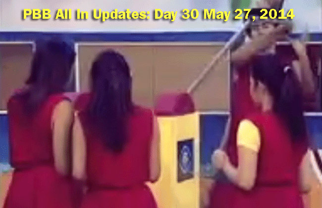 PBB All In Updates: Day 30 May 27, 2014