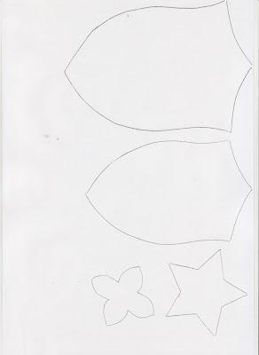 Открытка к 9 мая из бумаги с шаблонами