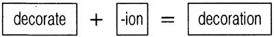 Суффикс -ion в образовании существительных. Holidays in England — продолжение переписки между английской и русской школьницами