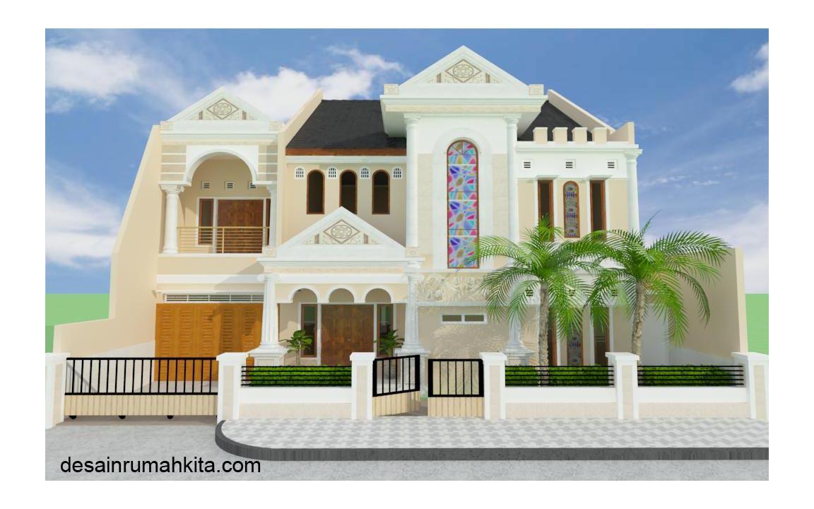 """Itulah beberapa Bentuk dan Desain """" Model Rumah Klasik """" semoga ..."""
