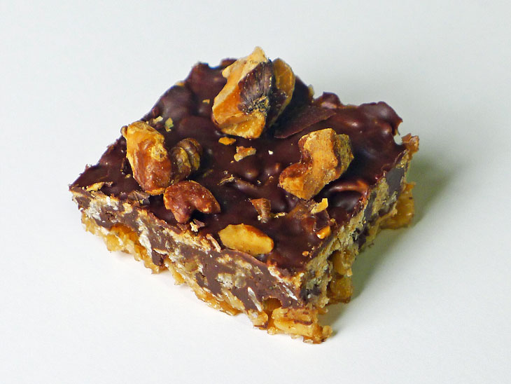 Cooking Weekends: Chocolate Crunch Bars