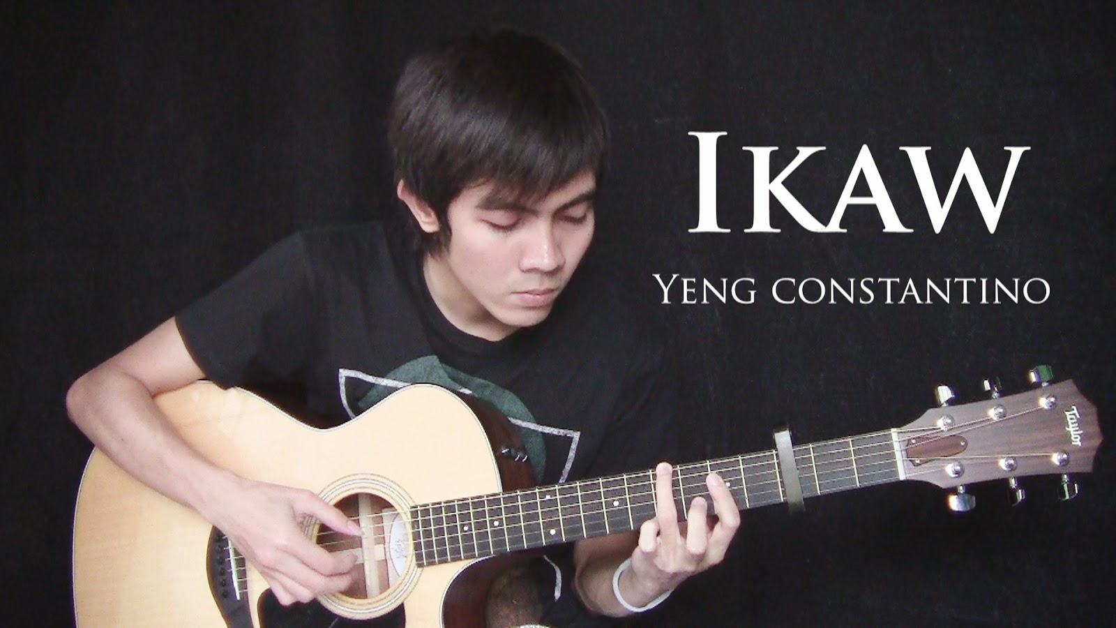 Nothing But The Strings: Ikaw fingerstyle guitar + free tab by Ralph Jay Triumfo