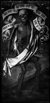Der Tod - Gemälde in der St. Sebald Kirche