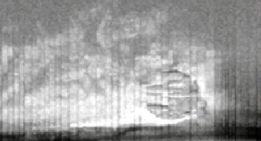 Anomaly On Baltic Sea Floor as Seen By Sonar June 2011