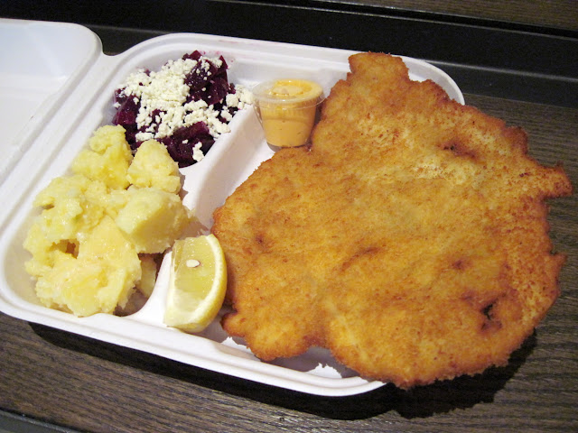 Dining in New York you can now find Schnitzel at Schnitzel and Things