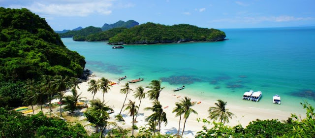 Ang Thong National Marine Park; Declared Officially Close 2015.