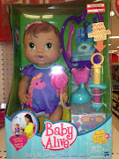 $5.00 off BABY ALIVE YUMMY TREAT BABY Doll Final Price = $8.98