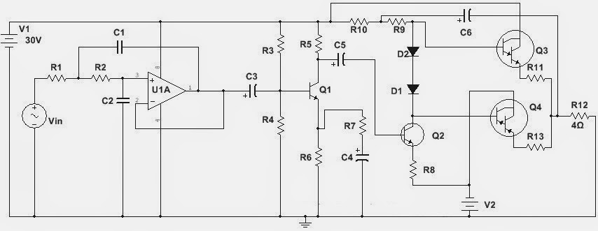 Subwoofer Amplifier 100w