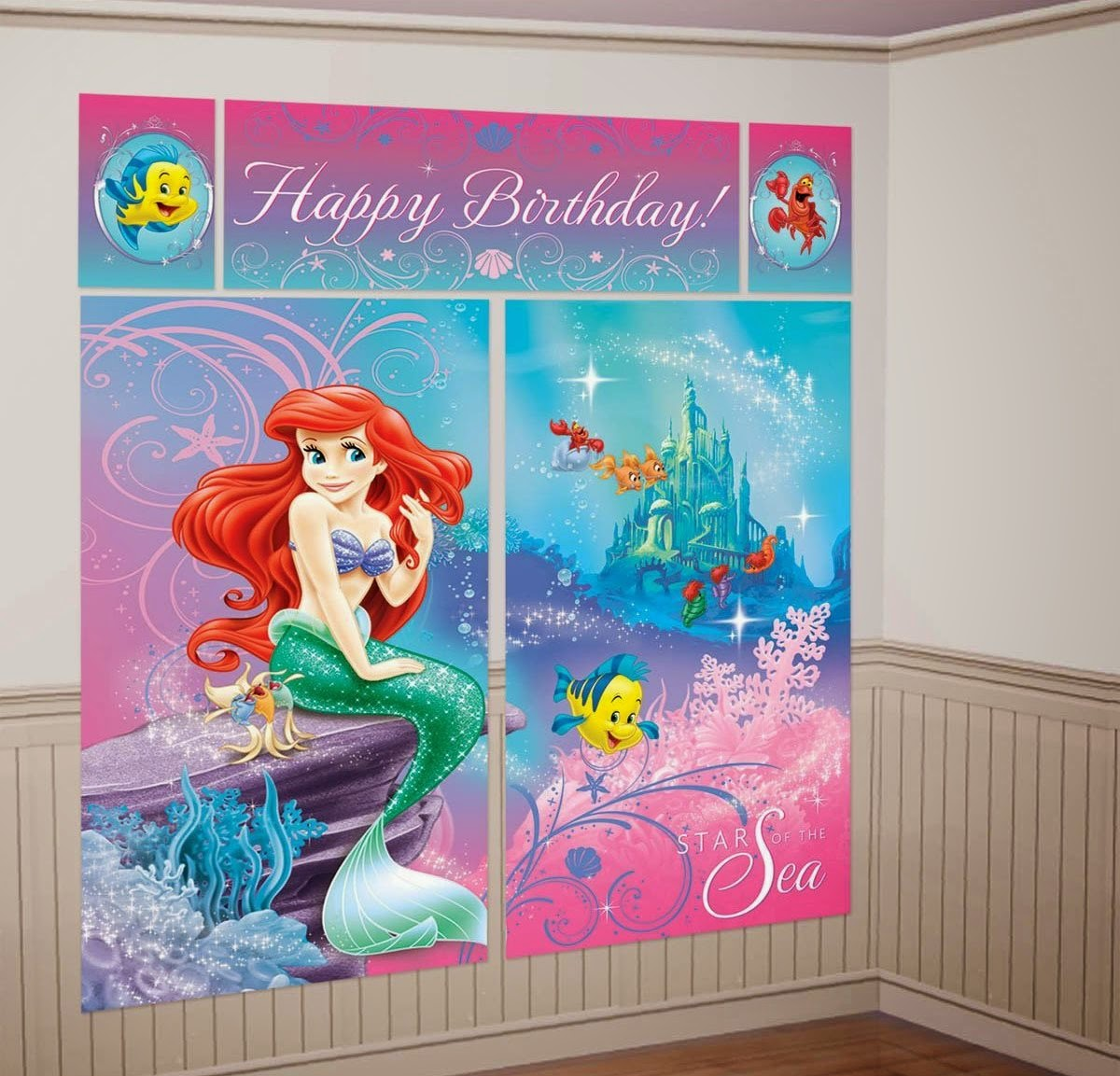Disney 39 S Little Mermaid Themed Party Supplies And Ideas Fun Themed Party Ideas