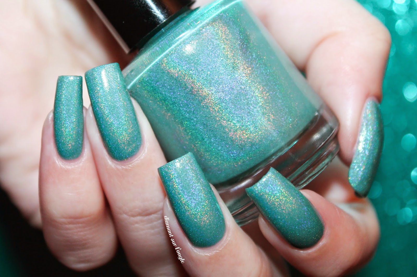 "Swatch of ""À La Menthe"" by Eat.Sleep.Polish."