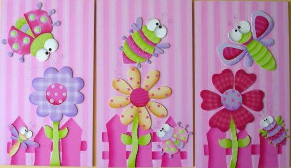 Mente creativa 12 ene 2012 - Cuadros para habitaciones de ninas ...