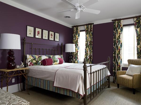 Not for boring decoraciones en lila morado violeta - Dormitorio malva ...