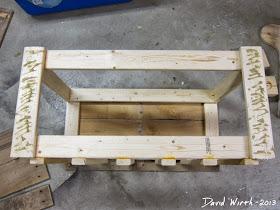 liquid nails, frame, wood boards, pine, nails