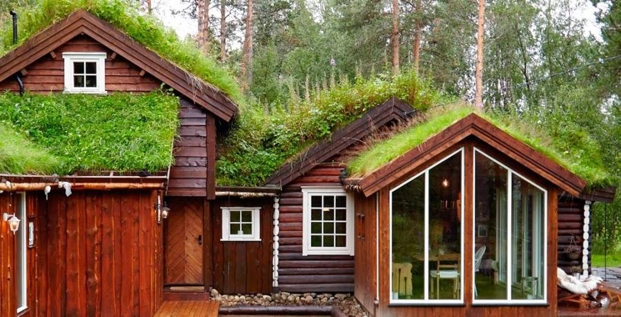 wystrój wnętrz, home decor, wnętrza, dodatki, dom, mieszkanie, dom z bali, dom drewniany, trawa na dachu
