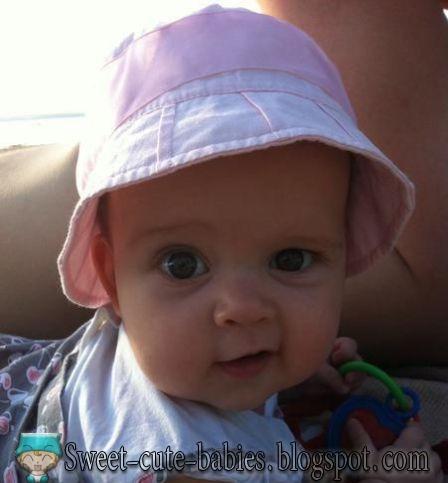 little, girl, hat