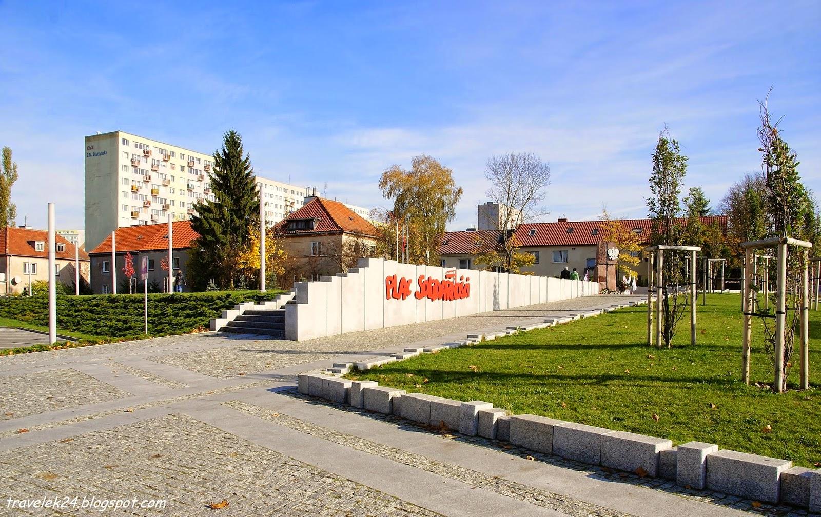 Olsztyn, Plac Solidarności
