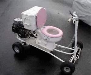 smiješne slike WC bicikl