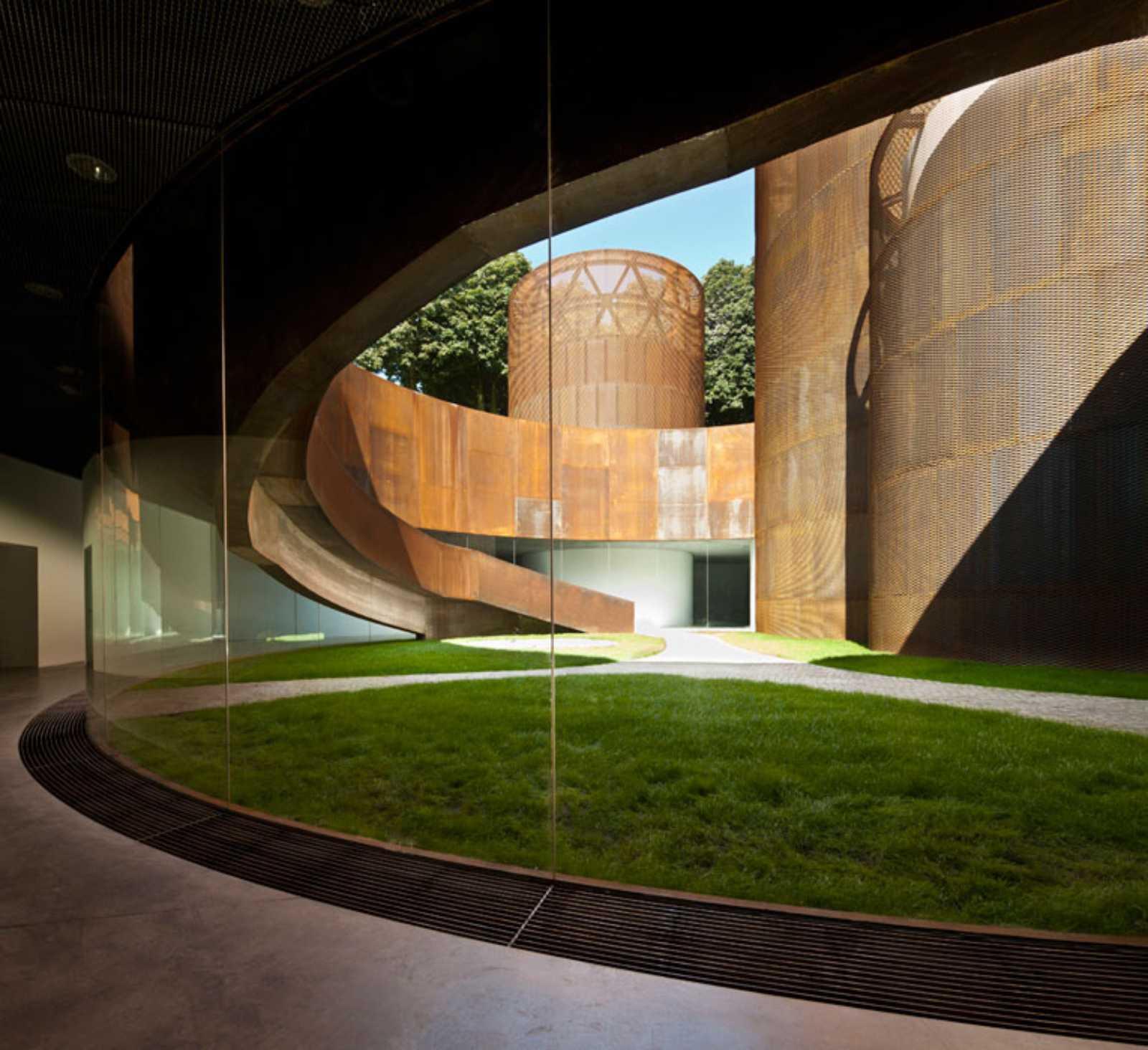 History museum of lugo by nieto sobejano arquitectos - Arquitecto de interiores ...