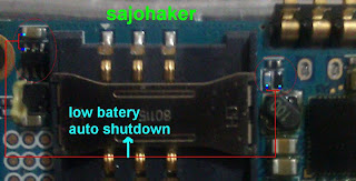 Samsung G600 Low Battery ShutDown problem solution