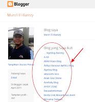 Hide Blog Yang Diikuti Pada Dasbord Blog