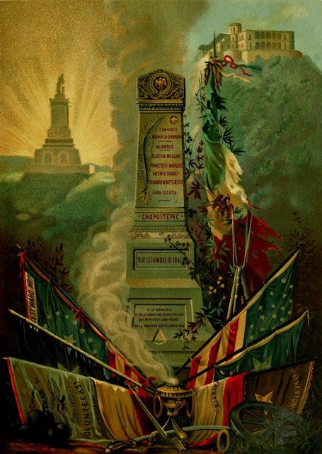 El obelisco de Chapultepec: Homenaje a los caídos durante la invasión norteamericana