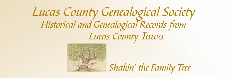 Lucas County Iowa Genealogical Society