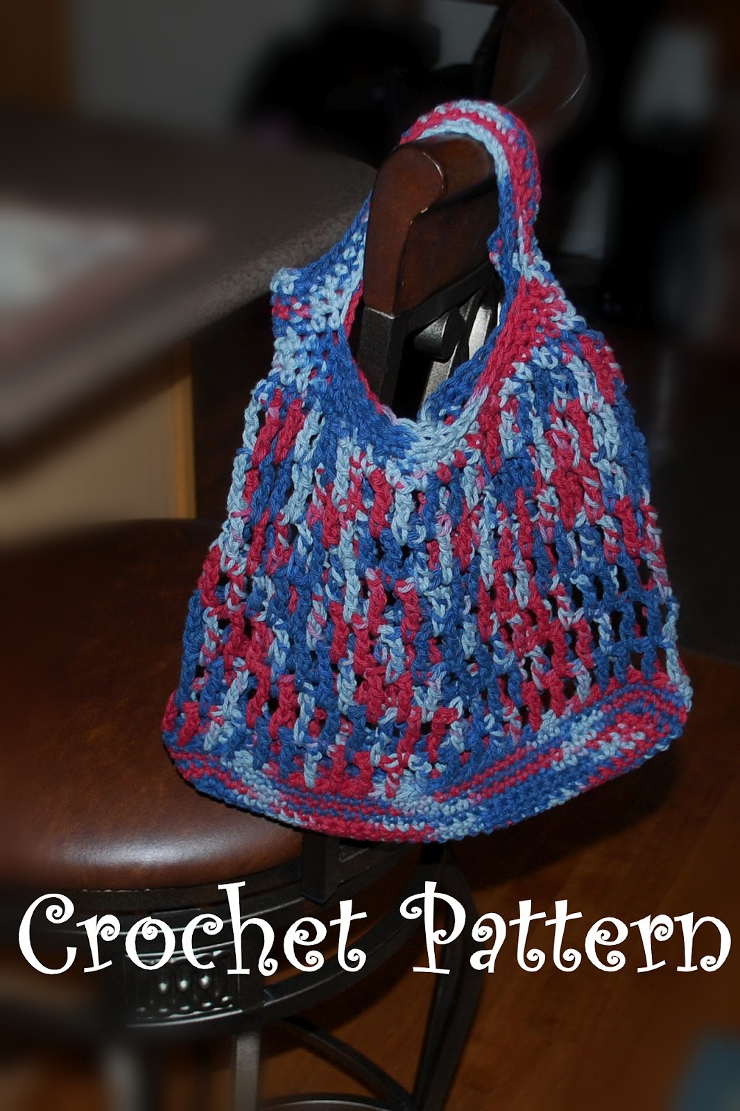 Posh Pooch Designs Dog Clothes: Cotton Shopping Bag Crochet Pattern