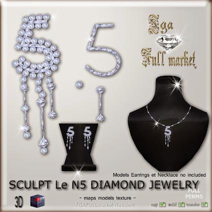 SCULPT LeN5 DIAMOND JEWELRY