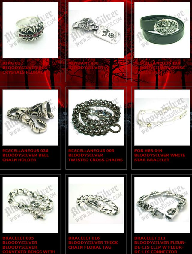 all Gothic Silver