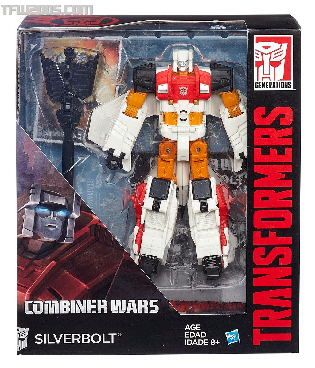 Hasbro - Transformers - The Combiner Wars - Aerialbots - Silverbolt